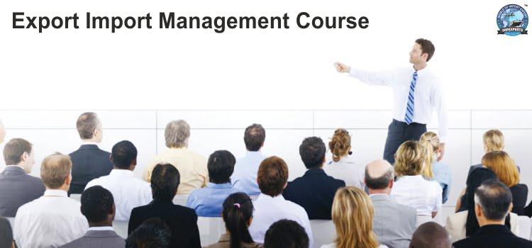 Export Import Management Course