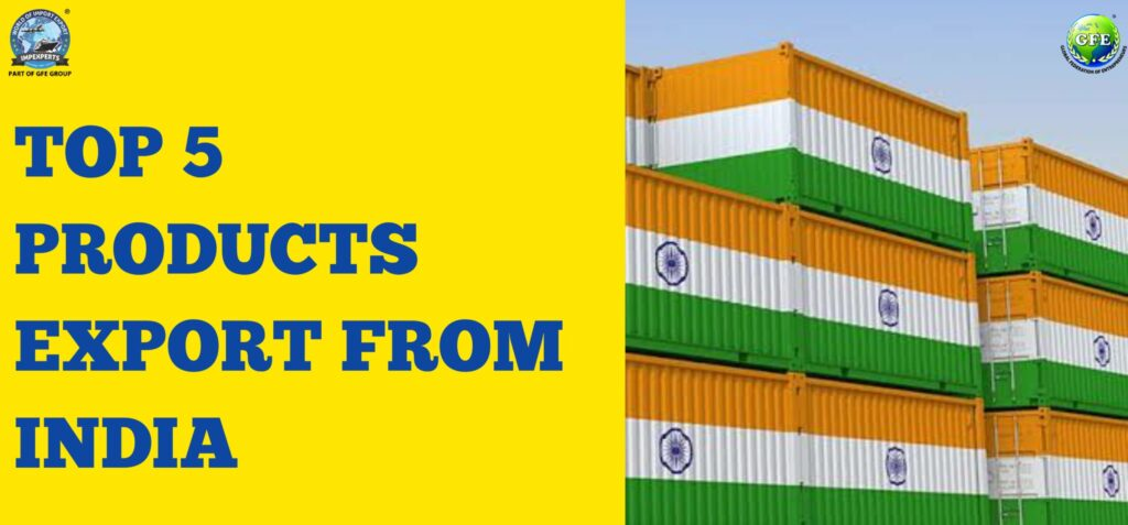 Products Export from India